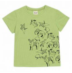 T-shirt νέα, ανοιχτό πράσινο