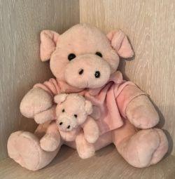 Jucărie porc