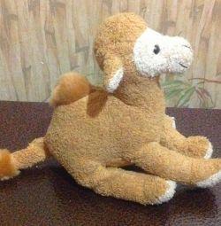 махровий верблюд з гранулами 15см