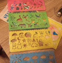 Ruler stencils