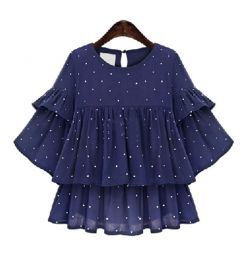 New blouse with frills