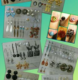 Earrings in stock