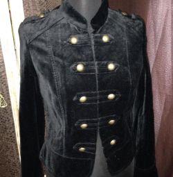 Velvet jachetă