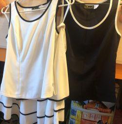 Костюм костюм тройка: юбка + 2 топа