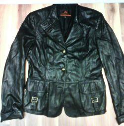 Δερμάτινη επίστρωση με τάφρο, παλτό, μπουφάν