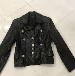 Jachetă din piele de design