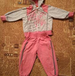 Αθλητικό κοστούμι για το κορίτσι