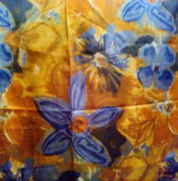 silk opaque curtains