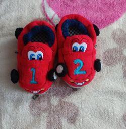 Wheelbarrow slippers