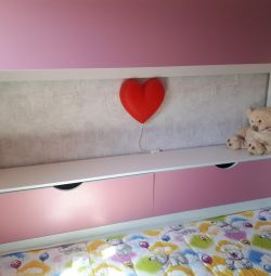 Bed for children bunk