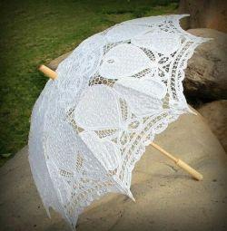 Umbrela de nunta.