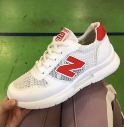 Sneakers summer. New to order