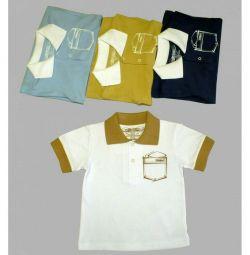 Παιδικό μπλουζάκι, νέο