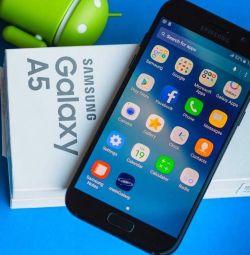 The new Samsung Galaxy A5 2017, black