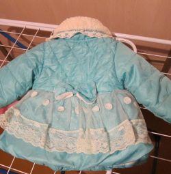 Куртка-пальто 1-2 роки