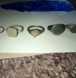 18th century antique rings