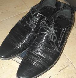Ανδρικά παπούτσια. 41 μέγεθος. 1000 τρίψτε.