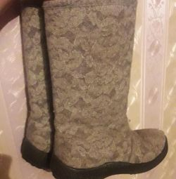 Boots boots openwork 34 size