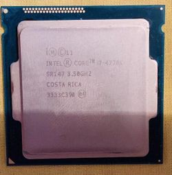 Intel Core i7-4770K Haswell 3400MHz