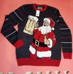 Pulover cu Moș Crăciun