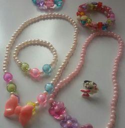 Children's costume jewelery