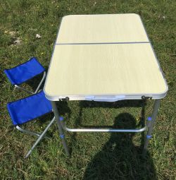 New Table with 2 chairs