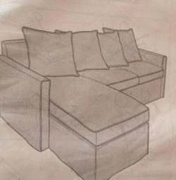 Новий чохол для дивана Ікея
