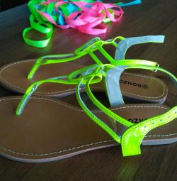 Sandals new size 38.5