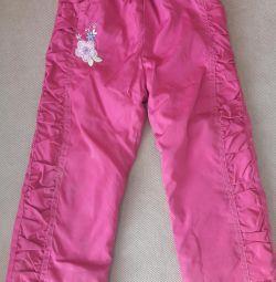 Pantaloni fleece