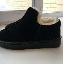 Yeni düşük ayakkabılar, kış