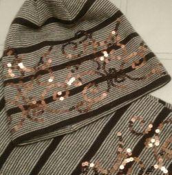 Комплект ( шапка и шарф)
