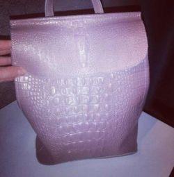 Δερμάτινη τσάντα σακιδίων