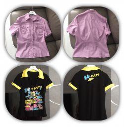 Фірмова нова сорочка майки шорти