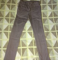 Pantolonlu kot pantolon daraldı p.122 / 128