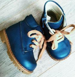 Κομψές μπότες Happy Steps, δέρμα