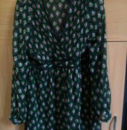 Шифоновая туника платье