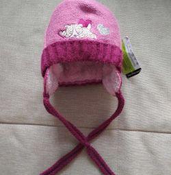 hat for girls p.42-44 winter