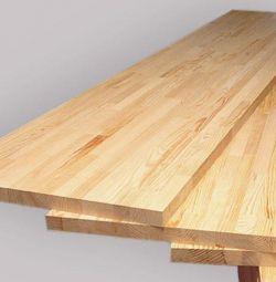 Furniture shield pine
