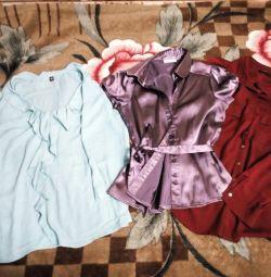 Блузки та сорочки.
