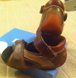 Sandals / Sandals for a boy, p. 22