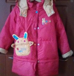 Down jacket autumn, up to 6 years