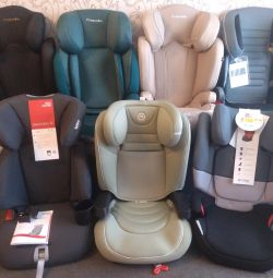New car seat with isofix for any age
