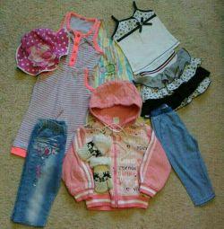 Pachet de haine pentru copii cu dimensiuni de 80