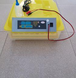 Incubatoare pentru 112/96/56/48 ouă -220V / 12V, automate.