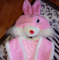 New Year's costume of a hare.