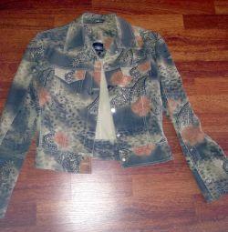 Jachete blugi colorate