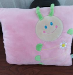 Soft pillow for baby on the road