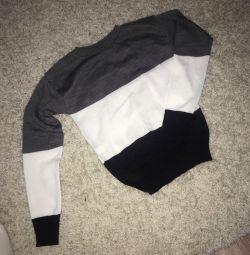 Pulover nou tricotat