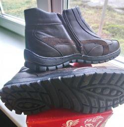 Ανδρικοί χρόνοι αστραγάλων μπότες ανδρών. 45