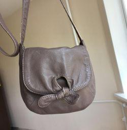 Leather Bag La Redoute
